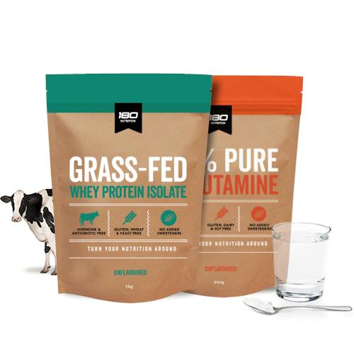 Grass-Fed WPI + L-Glutamine Bundle