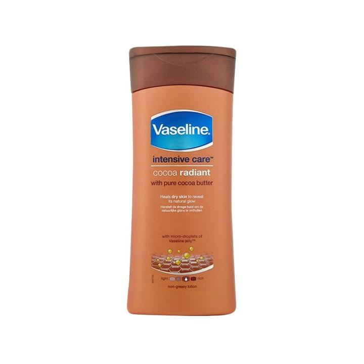 Vaseline Intensive Care Body Lotion Cocoa Radiant With Pure Cocoa Butter 200ml