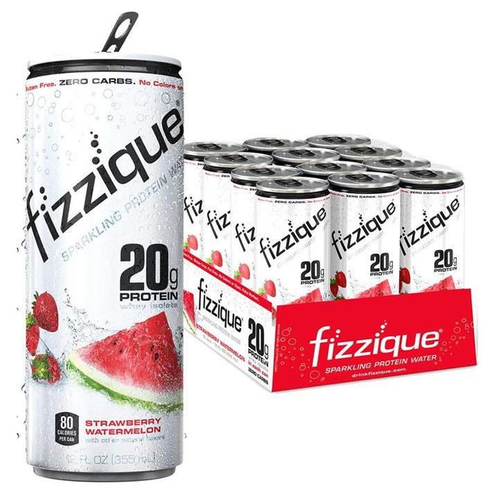 Fizzique Sparkling Protein Water 355ml (Box of 12)