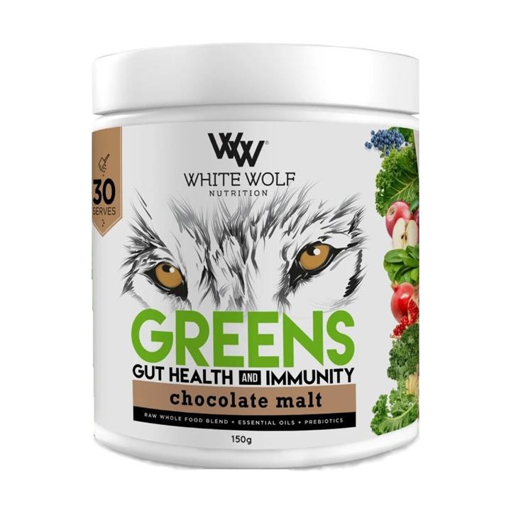 White Wolf Nutrition Greens Gut Health and Immunity 150g