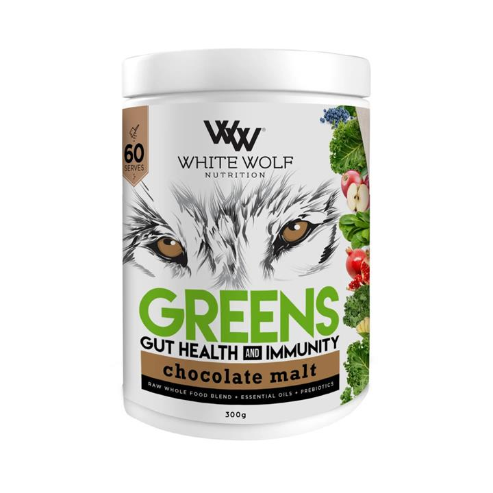 White Wolf Nutrition Greens Gut Health and Immunity 300g